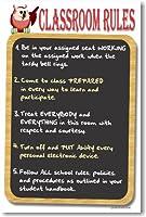 教室ルール4–Schoolポスター