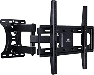 TV Stand Indoor HDTV Rotating Articulated Arm VESA Up to 400 * 400mm Monitor Full Dynamic Telescopic Wall Mount (Color : B...