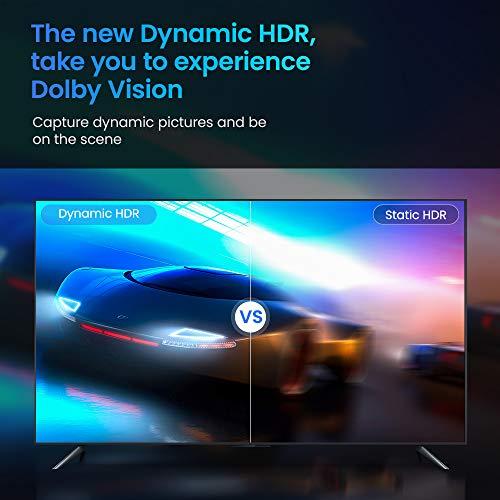 HDMI Kabel 4K 120Hz + 8K 60 Hz   HDMI 2.1 Kabel 2M-Snowkids 8K@60HZ&4K@120HZ HDMI 2.1 Ethernet Kabel 7680P mit eARC Dolby Vision 48Gbps Dynamischer HDR HDCP 2.3 kompatible mit PS5, PS4, HDTV, PC - 4