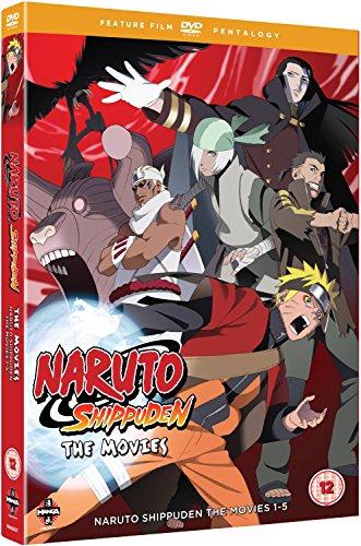 Naruto Shippuden Movie Pentology (Mo [Edizione: Regno Unito] [Import]