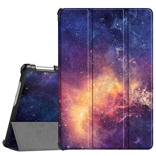 Fintie Hülle Case für Huawei MediaPad M5 Lite 10 - Ultra Dünn Superleicht Flip Schutzhülle mit Auto Sleep/Wake Funktion für Huawei MediaPad M5 Lite 10 10.1 Zoll 2018 Tablet PC,Die Galaxie