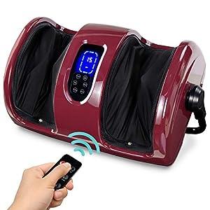 Best Choice Products Foot Massager Machine Shiatsu Leg Massager, Therapeutic Reflexology Calf Massager w/ Blood…