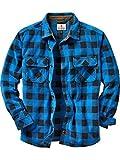 Legendary Whitetails Men's Navigator Fleece Button Up Liberty Blue Medium