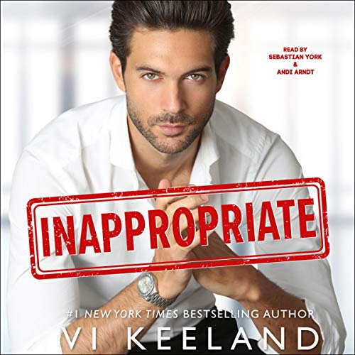 Inappropriate audiobook cover art