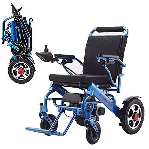 KADDGN Mobility tragbare Falten Elektro-Rollstuhl, Gehhilfe Elektro-Rollstuhl, leicht Faltbare Elektro-Rollstuhl