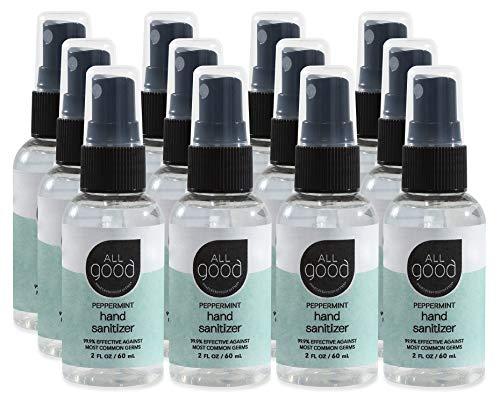 All Good Peppermint Hand Sanitizer Spray (2 oz)(12-Pack)