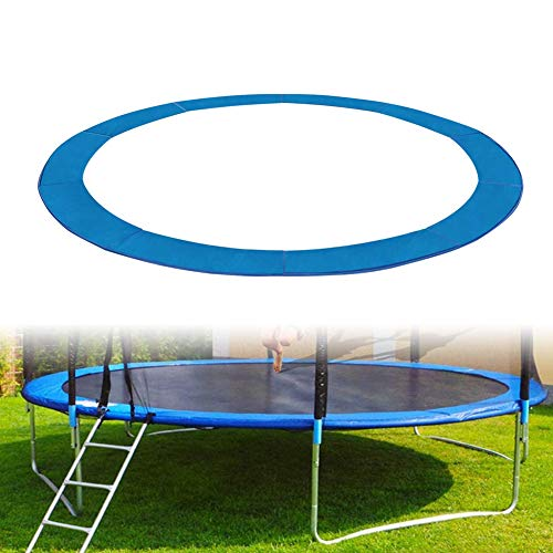 6ft 8ft 10ft 12ft 13ft Trampoline Cover Replacement Surround Pad Foam Safety Guard Spring Padding Pads Tear-Resistant Edge Protection Blue,10ft