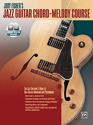 Jody Fisher's Jazz Guitar Chord-Melody Course | Gitarre | Buch & CD