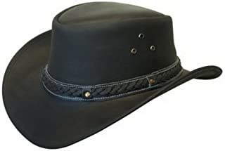 leather down under hat