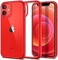 Spigen Apple iPhone 12 Mini Kılıf Ultra Hybrid / Red - ACS01747