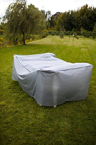 VisioBrands Coque de Protection pour Meubles de Jardin Table et chaises Groupe Couverture Bâche 750102