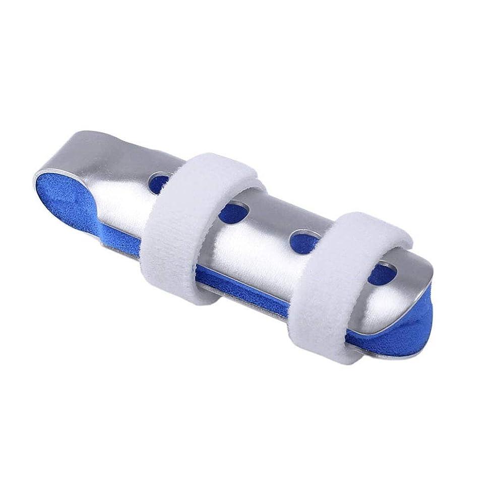 分析的上に条約指の添え木、柔らかいフォームの内部ループストラップと保護穴を備えた大人と子供の指の関節固定用に作られたパック,S