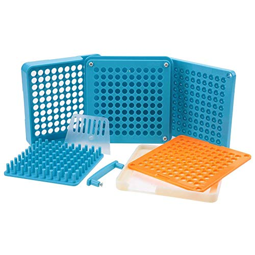 Size 000 Plastic Capsule Holder with 100 Holes and 100
