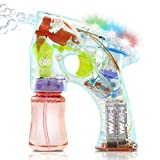 Bubble Gun Soap Kids Toy for Outdoor Garden Games Games or Birthday Party
