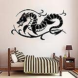 DIY Art God Dragon Mythical Beast Monster Tattoo Shop Vinilo Etiqueta de la pared Calcomanía para coche Dormitorio de niño Sala de juegos Estudio Decoración para el hogar Mural