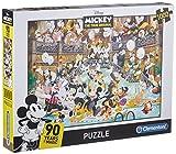 Clementoni Mickey & Friends Puzzle 1000 Piezas Disney Gala, Color (39472.2)