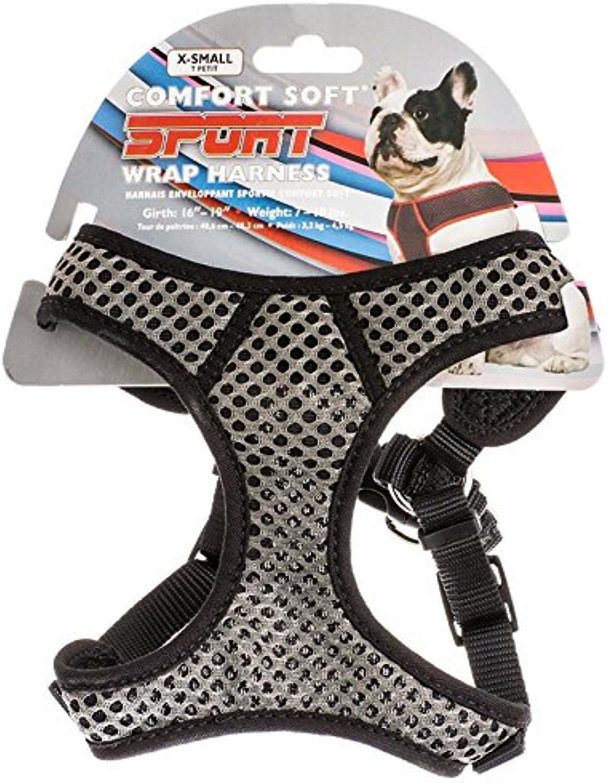 6484 19 Gry Blk 5 8 Sport Harn Sport Comfort Harness