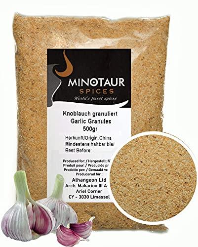 Minotaur Spices   Knoblauch granulat,Knoblauch granuliert 2 X 500g (1 Kg)