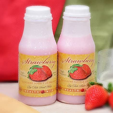 Ranking integrated 1st place Strawberry Protein sold out Shake Go 6-Pack Bottles -