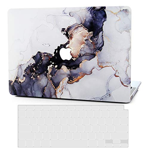 BELK MacBook Pro 13 inch Case 2020-2016 Release with/without Touch Bar A2289 A2251 A2159 A1989 A1706 A1708, Ultra Slim Plastic Printing Pattern Hard Shell Protective Cover with Keyboard Cover