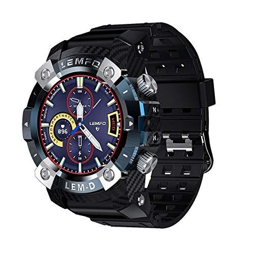 Intelligente Uhr,1.3In Sportuhr TWS Bluetooth Kopfhörer 2In1 360 * 360 Hd Display 350Mah Akku Schrittzähler wasserdichte Smartwatch Für Android IOS