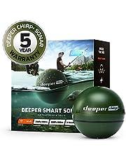 Sonda inteligente Deeper CHIRP + más profunda: portátil, portátil, GPS Fish Finder y buscador de profundidad, en tierra o en alta mar, agua dulce o salada