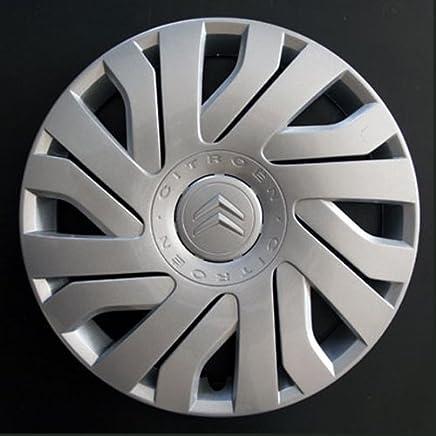 Wheeltrims Set de 4 embellecedores nuevos para Citroen C1 / C2 / C3 / C4 / C5 / C8 / Nemo/Berlingo/Xsara Picasso con Llantas Originales de 14''
