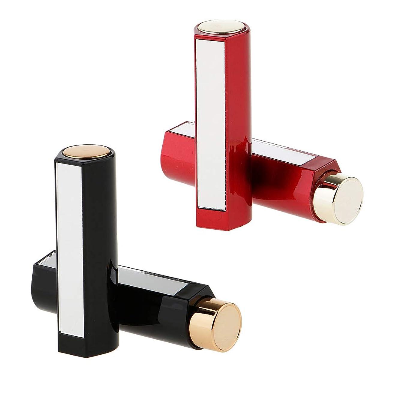 令状サスペンド覗くDYNWAVE 4本セット 空チューブ 口紅容器 口紅チューブ リップスティックコンテナ 約7.5x 2cm