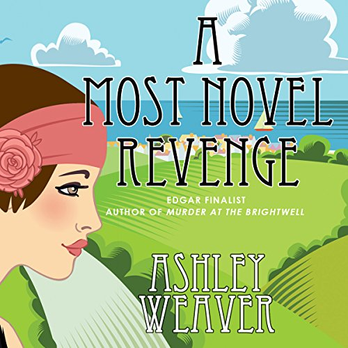 A Most Novel Revenge audiobook cover art