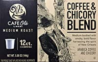 HEB Cafe Ole Coffee and Chicory Blend Pods compatible with Keurig [並行輸入品]
