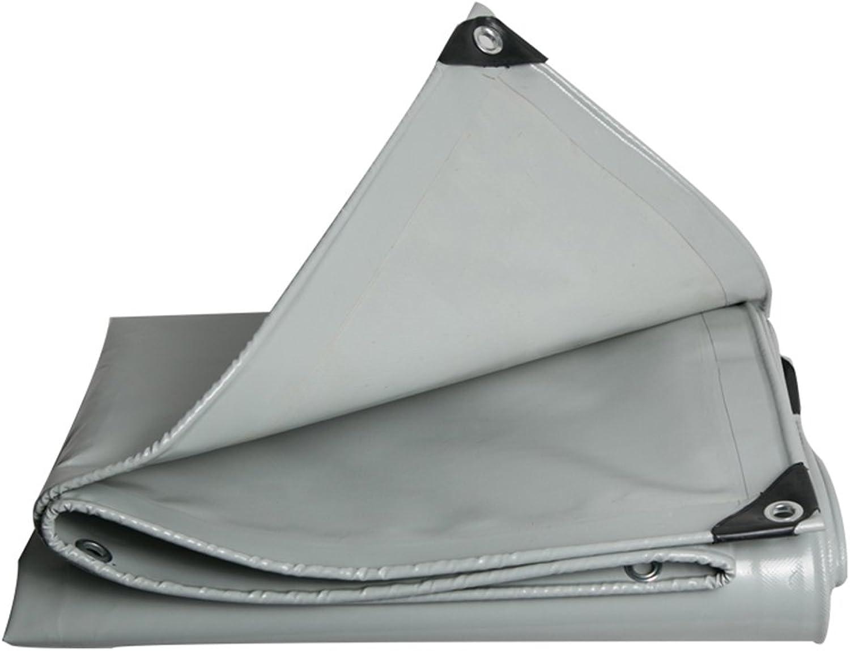 PJ Zelt Wasserdichtes Tuch Grauer verdunkeln Sie Planen-PVC-Stoff-Regen-Stoff-Überdachung-regendichter Sonnenschutz Wasserdichtes 600g m²-0.48mm Es ist Weit verbreitet B07DSHCGPP  Super Handwerkskunst