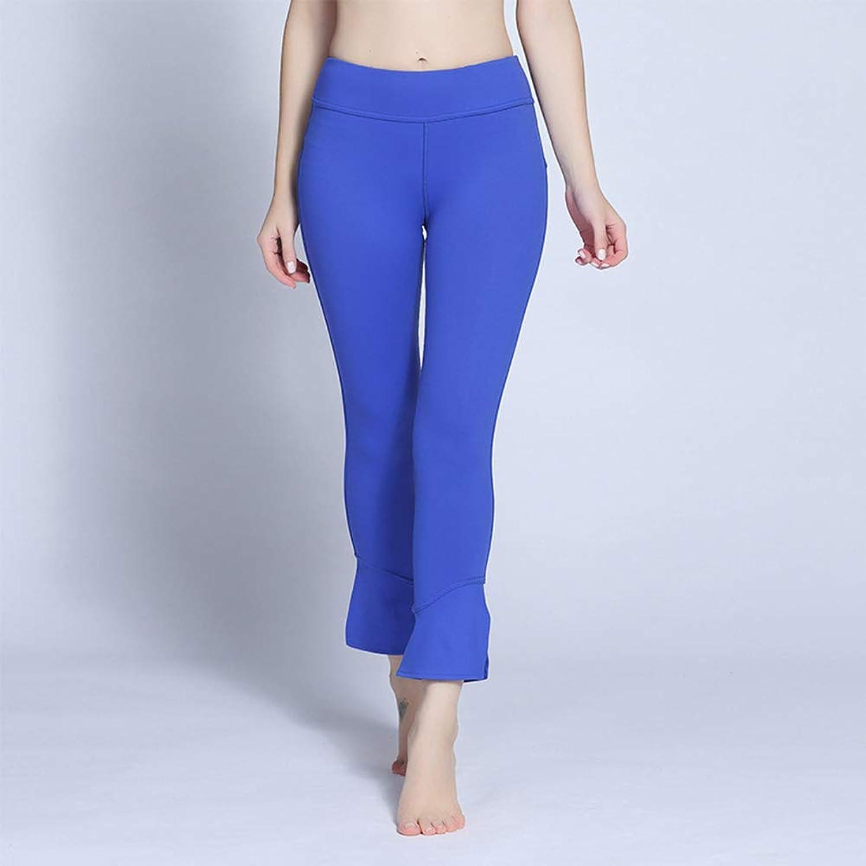 Ladies Yoga Pants High Rise Stretch Workout Pants Summer New Lightweight Yoga Leggings Lifting Pant Shapewear,bluee,XL