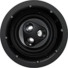 NHT iC3-ARC 2-Way 6.5-inch In-Ceiling Speaker with Aluminum Driver, 125 Watts, Single, Matte White