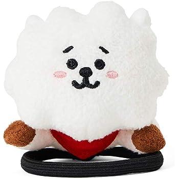 BT21 Official Merchandise by Line Friends - RJ Character Plush Figure Lying Hair Tie Accessories