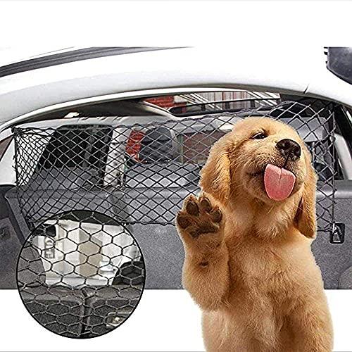 Ablily Red de Almacenamiento de Seguridad Protectora para Automóviles Red de Perros...
