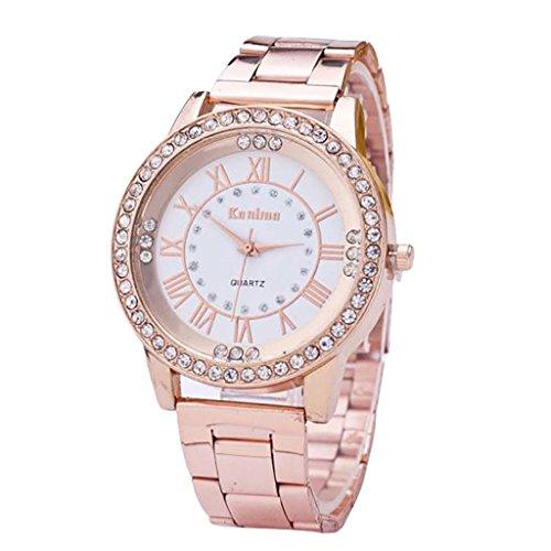 Relojes para Las Mujeres, ZODOF Reloj de Pulsera de Reloj de Cuarzo an