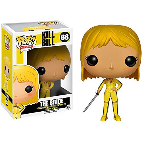 cheaaff Funko Pop Kill Bill Vol. 1 Figura de Vinilo Juguetes n. ° 68 The Bride Collection Figura de accion Modelo decoracion muneca Juguetes