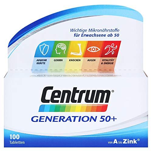 CENTRUM Generation 50+ A-Zink Tabletten 100 Stück