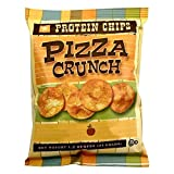 NutriWise - Pizza Crunch Protein Diet Chips | 7/Bags | Low Calorie, Low Fat, Low Cholesterol, Keto-Friendly, High Fiber