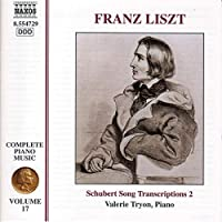 Complete Piano Music 17 / Schubert Song Transcr 2