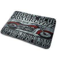 NIESIKKLA バスマット、オートバイ、マット滑り止め ソフトタッチ 丸洗い 洗濯 台所 脱衣場 キッチン 玄関やわらかマット 40x 60cm