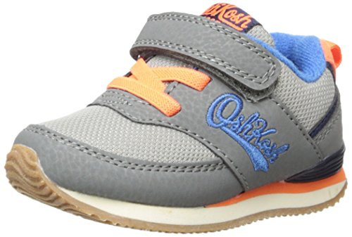 OshKosh B'Gosh Baby Sinclair Girl's Boy's Retro Jogger Sneaker, Gunmetal, 10 M US Toddler