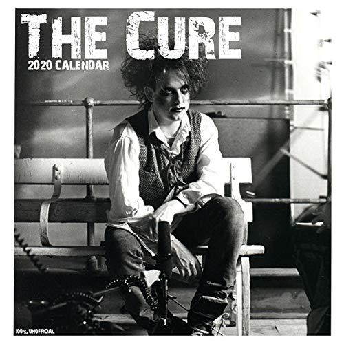 The Cure 2020 Wandkalender, 30,5 x 30,5 cm, quadratisch, mit gratis Poster, das perfekte Geburtstags- oder Weihnachtsgeschenk