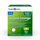 Amazon Basic Care Nicotine Lozenge,