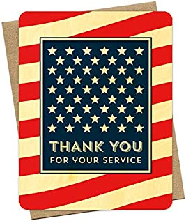 American Thank You Card by Night Owl Paper Goods