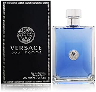 Versace Pour Homme Eau de Toilette Spray for Men, 200 ml, 6.7 Ounce