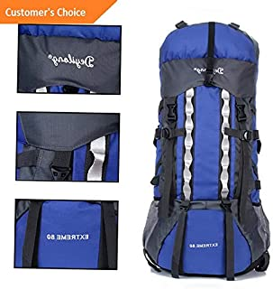 1ab2a67021bc Amazon.com: 80l 20 waterproof outdoor camping travel hiking bag