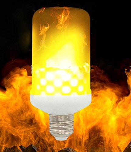 Nouvelle simulation de modèle de troisième vitesse d'ampoule d'effet de flamme de LED 360 degrés , E14