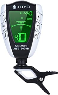 JOYO JMT-9009B 2-in-1 Rotatable Clip-on Electronic Tuner Metronome with LCD Display for Chromatic Guitar Bass Ukulele Violin