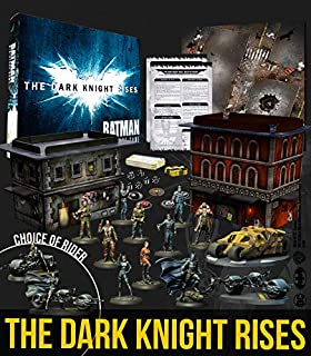 Batman Miniature Game - The Dark Knight Rises Box - Inglés